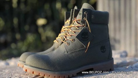 PHOTO: Timberland Boots made from Haiti Recycled Plastic Bottles