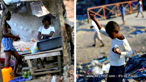 PHOTO: The kind of Haiti foreign journalists just love to photograph!