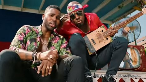 Jason Derulo and Wyclef Jean in Colors Video