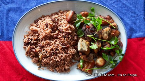 Haitian Cuisine - Griot with Rice and Beans invades the New York Times LOL...