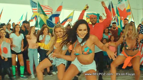 World Cup 2018 J Balvin Michael Brun Positivo Video Snapshot
