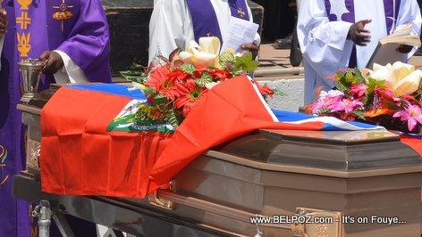 Funeral in Haiti