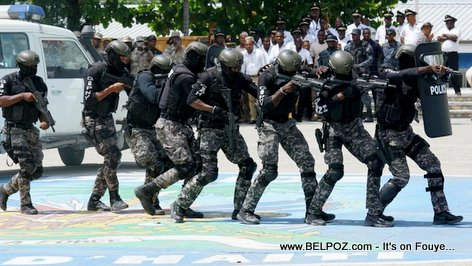 GIPNH - Groupe d'Intervention de la Police National d'Haiti (SWAT Team)