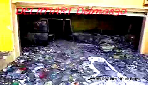 Haiti : What's left of DELIMART Delmas 30 after July 07 2018 riots (VIDEO)