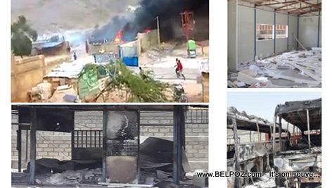 Haiti - La Douanne de Malpasse pran Difé (VIDEO)