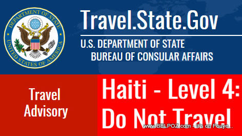 Haiti Travel Warning - Level 4: Do Not Travel