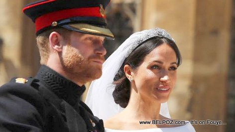 PHOTO: Prince Harry and Meghan Markle on their wedding day