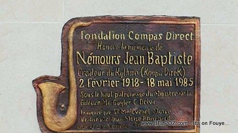 PHOTO: Haiti - Nemours Jean Baptiste sculpture at Place Sainte-Anne Port-au-Prince