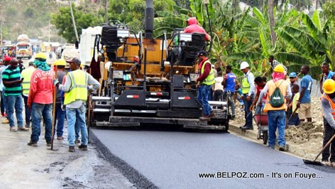 PHOTO: Carrefour Bac Jeremie - Haiti Road Construction