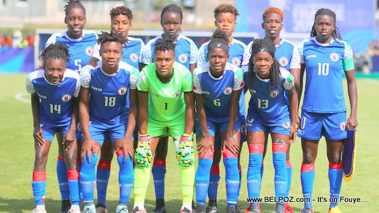 Team Haiti - FIFA U-20 Women World Cup France 2018