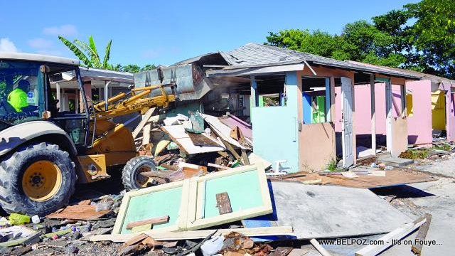 Bahamas Demolishing Shanty Towns where Haitians live