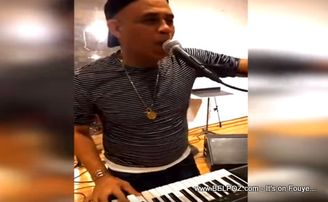 PHOTO: President Singer Michel 'Sweet Micky' Martelly rehearsing in New York