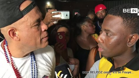 PHOTO: Ex Haiti President Michel Martelly answer question about #PetroCaribeChallenge