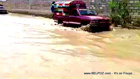 PHOTO: Flodding in Cite Soleil, Port-au-Prince, Haiti
