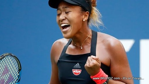 PHOTO: Naomi Osaka, Haitian-Japanese Tennis Player at the 2018 US Open