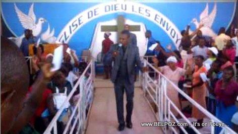 PHOTO: Pastor Mackenson Dorilas, a controversial Haitian pastor / prophet