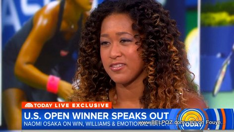 Naomi Osaka on the Today Show, she speaks out about Serena Williams and US Open final experience (VIDEO)