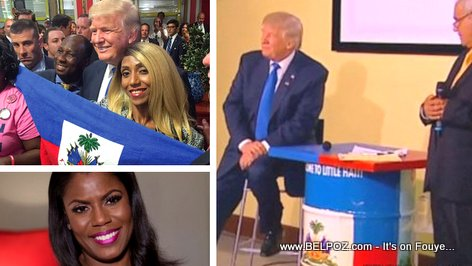 Donald Trump gor the Haitian-American votes but told Amarosa not to go to Haiti