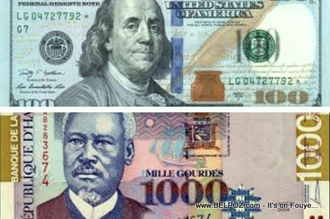 The Haitian Gourde vs The US Dollar