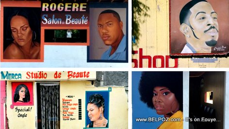 Barbershops: Haitian Street Art featured on Vogue Magazine