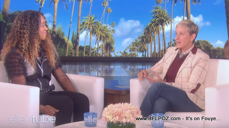 PHOTO: Naomi Osaka Live on The Ellen DeGeneres Show