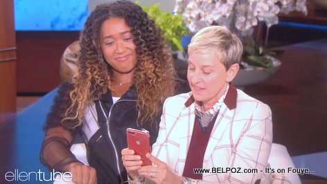 PHOTO: Naomi Osaka and Ellen - The Ellen DeGeneres Show