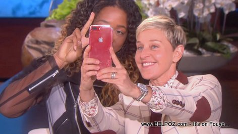 Ellen DeGeneres took a selfie with Naomi Osaka and sent it to actor Michael B. Jordan