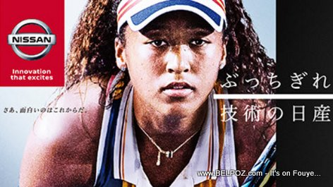 PHOTO: Naomi Osaka, new Brand Ambassador for NISSAN