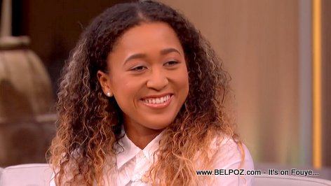 PHOTO: US Open Champion Naomi Osaka on the Steve Harvey Show