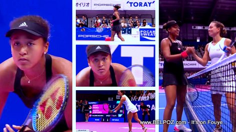 PHOTOS: Naomi Osaka vs Barbora Strycova -  Pan Pacific Open Tennis Tournament 2018