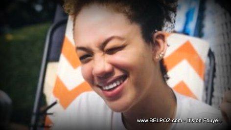 PHOTO: Malaika Martelly, daughter of ex Haitian president Michel Martelly
