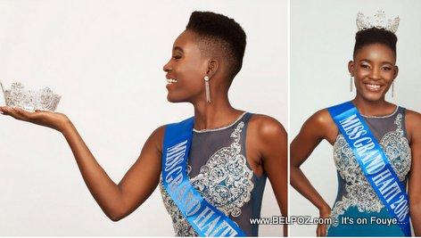 PHOTO: Valierie Alcide - Miss Grand Haiti 2018