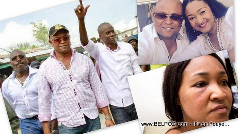 Yves Leonard, wife beater and best friend of Haitian President Jovenel Moise and Prime Minister Henry Ceant