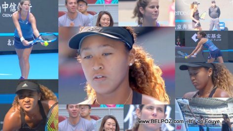 PHOTOS: Naomi Osaka vs Julia Goerge - China Open Tennis Tournament 2018