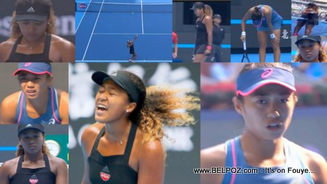 PHOTOS: Naomi Osaka vs Shuai Zhang - China Open 2018