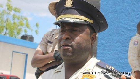 Haiti Police - DDO Berson Soljour