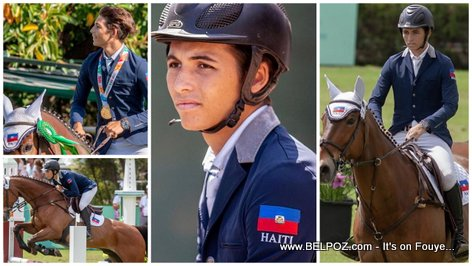 PHOTO: Mateo Philippe Coles - Haitian Olympic Gold Medal Equestrian/Jockey