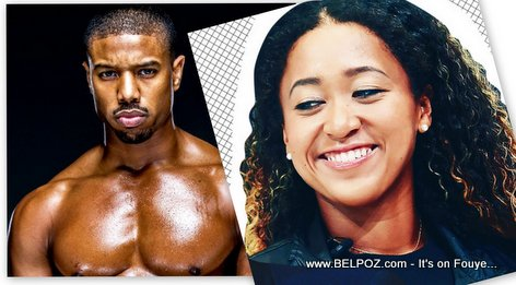 PHOTO: Naomi Osaka and Michael B. Jordan