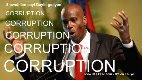 Haitian Jovenel Moise: Haiti has 5 problems!