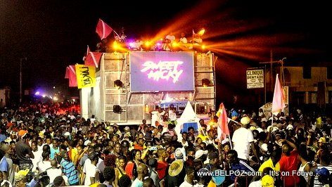 PHOTO: Sweet Micky - Carnaval 2018, Aux Cayes Haiti