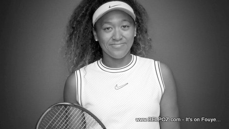 Haitian-Japanese Tennis Superstar Naomi Osaka in her new Nike Outfit