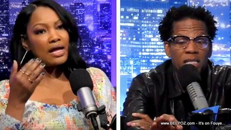 Garcelle Beauvais on the DL Hughley Show