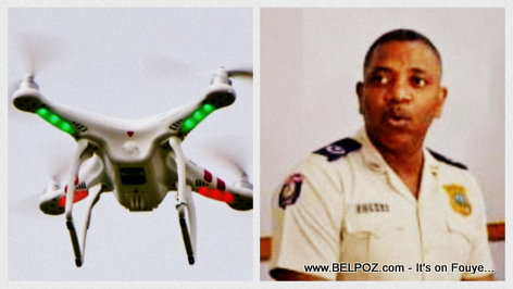 Haiti Toy Drone Scandal at the home of DG-PNH Michel Ange Gedeon