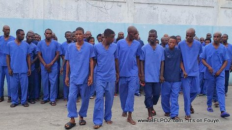 53 alleged members of Anel Joseph's gang arrested in the Northern Haiti by police