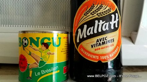 Malta H, Made in Haiti - Lait Bongu, imported