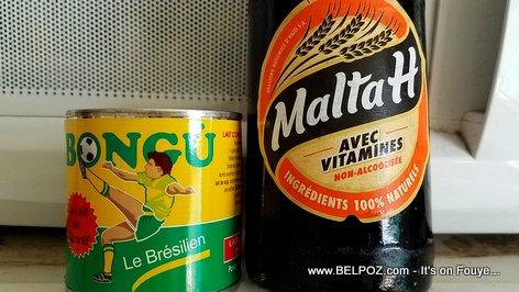 Malta H, Made in Haiti - Lait Bongu, imported