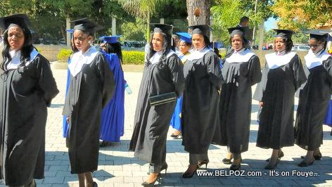 The Graduating Class in Haiti - Ecole de Droit et des Sciences Economiques de Hinche