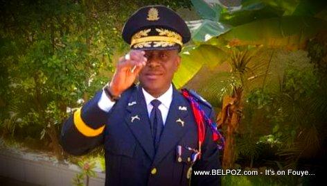 Michael Lucius - Former director of Haiti Judicial Police (DCPJ)
