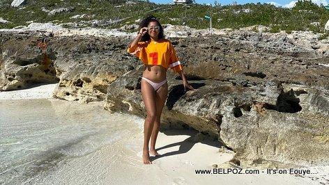 Naomi Osaka Sexy Bikini Picture at the Beach