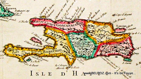 Isle d'Hayti, old Haiti Island and the History behind the name change